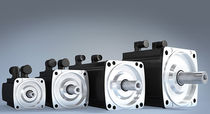 AC servomotor / synchronous / permanent magnet / compact