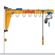 Wall-mounted jib crane / electric / inverted