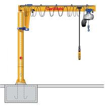 Pillar jib crane / electric / inverted
