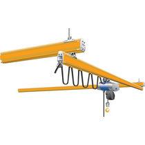 Single-girder overhead traveling crane / low headroom / lightweight / hanging