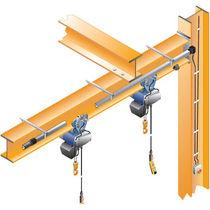 Lifting equipment feeding system