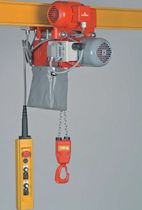 Electric chain hoist / heavy-duty / compact / low headroom