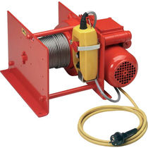 Electric winch / pulling / compact / explosion-proof