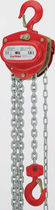 Manual chain hoist / compact / corrosion-resistant