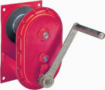 Manual winch / lifting / rugged / wall-mounted
