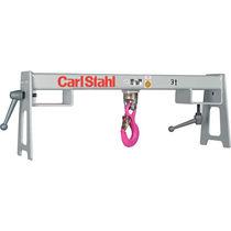 Forklift use hook beam