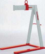 Adjustable fork / for cranes