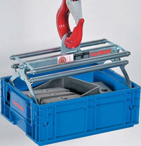 Mechanical load lifting grab / crate