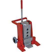 Hydraulic jack / for heavy-duty applications / machinery toe