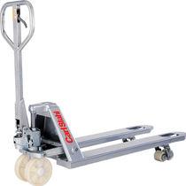 Hand pallet truck / handling / security / galvanized steel