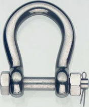 Moving head shackle / stainless steel