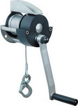 Manual winch / lifting / wall-mounted / gear