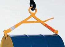 Drum lifting clamp / horizontal / manual