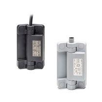 Plastic hinge / concealed / built-in / 90°