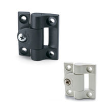 Stainless steel hinge / friction / screw-in / 90°