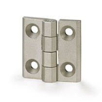 Continuous hinge / stainless steel / 270° / screw-in
