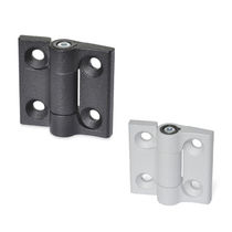 Zinc hinge / friction / screw-in / 180°