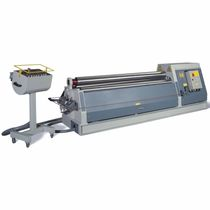 4-roller plate bending machine / hydraulic