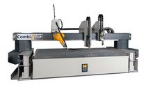 Steel cutting machine / plasma / CNC / 3D