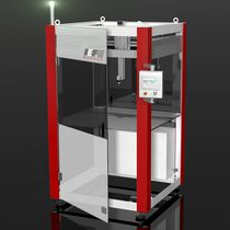 Robotic handling cell / for machining centers
