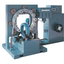 Rotary ring stretch wrapper / automatic / for coils / stretch film