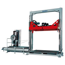 Unmanned strapping machine / lateral / fully-automatic