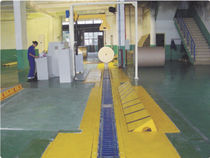 Roller conveyor / V / horizontal / transport