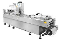 Roll-fed thermoforming machine / for packaging / automated / industrial