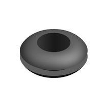 Rubber cable grommet / EPDM / open