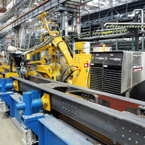 Robotic welding cell / MIG-MAG welding / for production