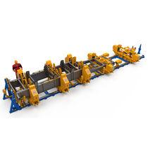 Semitrailer chassis assembly bench / modular / multipurpose