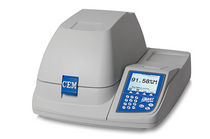 Moisture analyzer / microwave / laboratory / automatic
