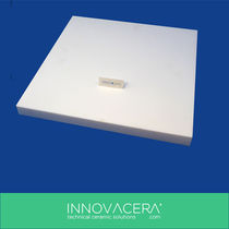 Insulation panel / flat / glass ceramic / machinable