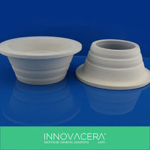 Crucible for high-temperature applications / ceramic