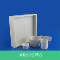 Electric isolator / ceramic / current / hot-pressed boron nitride