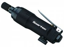 Straight pneumatic screwdriver / with torque control