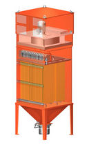 abrasive dust collector  HERDING