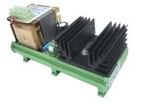 AC/DC power supply: DIN rail linear voltage rectifier 12 - 24 V DC, 12 - 120 W |  EL.CO.