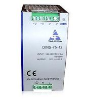 AC/DC power supply: DIN rail module 75 W | DINS-75 Anhui Talema electronics