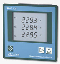 AC three-phase energy network analyzer UMG 505 Janitza Electronics