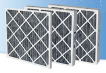 activated carbon pleated panel air filter AmAir/C series AAF International