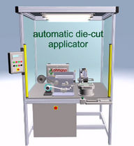 adhesive feeding unit for application systems Die-Cut Dispenser LOHMANN The Bonding Engineers