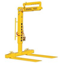adjustable crane pallet fork max. 3 000 kg, max. 1 000 mm | MBR series Boscaro s.r.l.