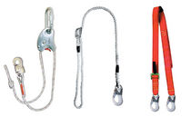 adjustable fall arrest lanyard lifeline EN 358 Timus Safety s.r.o.