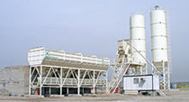 aggregate silo for precast concrete batching plant  Fibo intercon