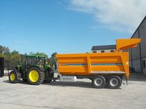 agricultural monocoque trailer 12t -> 24t, 16m³ -> 40m³ Chieftain Trailers