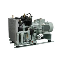 air cooled medium pressure reciprocating compressor (stationary) 140 - 390 m³/h, max. 40 bar (g) | PASSAT series | Basic J.P. Sauer & Sohn Maschinenbau GmbH