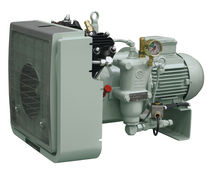 air cooled medium pressure reciprocating compressor (stationary) 8 - 40 m³/h, max. 40 bar (g) | MISTRAL series | Basic J.P. Sauer & Sohn Maschinenbau GmbH
