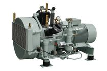 air cooled medium pressure reciprocating compressor (stationary) 50 - 135 m³/h, max. 40 bar (g) | PASSAT series | Basic J.P. Sauer & Sohn Maschinenbau GmbH