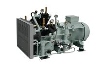 air cooled medium pressure reciprocating compressor (stationary) 75 - 195 m³/h, max. 40 bar (g) | PASSAT series | Basic J.P. Sauer & Sohn Maschinenbau GmbH